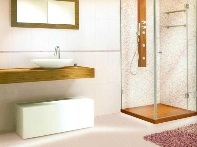 Decorazioni per piastrelle bagno pannelli adesivi per - Listelli decorativi per bagno ...